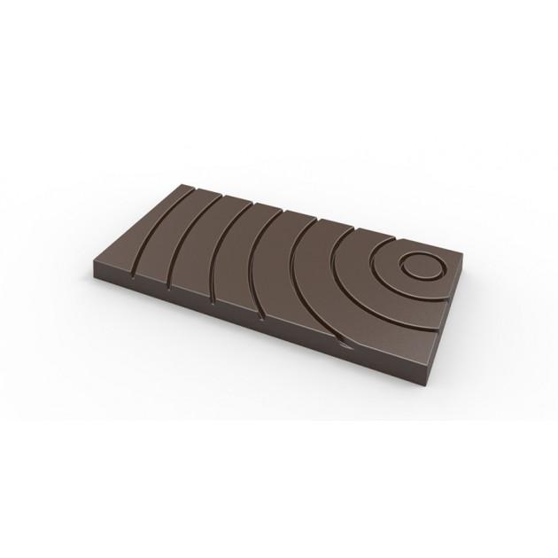 Moule a chocolat 3 Tablettes effet Onde