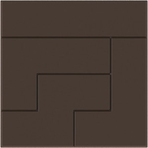 Moule Chocolat Tablette Carrée Tetris (x6)