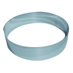 Cercle à Vacherin Inox 18 cm x H 6 cm Gobel