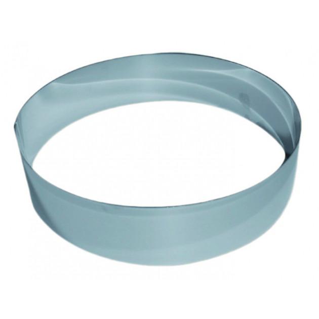 Cercle a Vacherin Inox 18 cm x H 6 cm Gobel