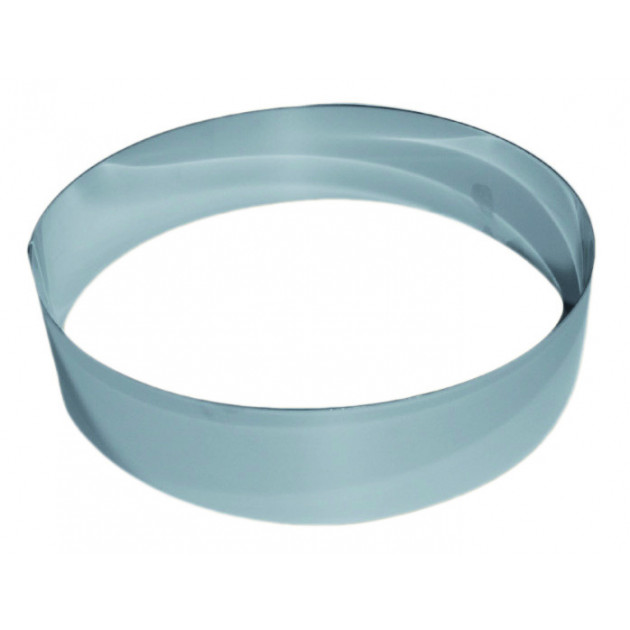 Cercle a Vacherin Inox 28 cm x H 6 cm Gobel