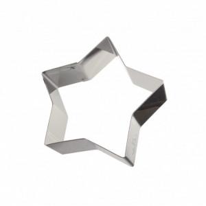 Cercle Étoile Inox 10 x 9 cm x H 4,5 cm Gobel