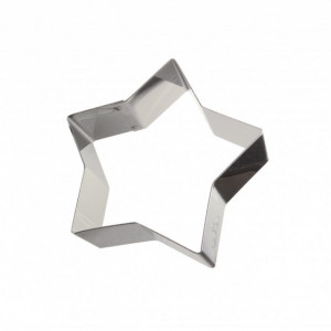 Cercle Étoile Inox 19,5 x 18 cm x H 4,5 cm Gobel
