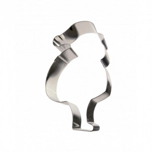 Cercle Père Noël Inox 20 x 15 cm x H 4,5 cm Gobel