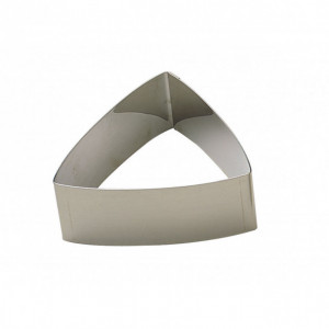 Nonnette Inox Triangle Bombé 7 cm x H 3 cm Gobel