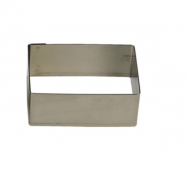 Cadre à Mousse Inox Rectangle 20 x 10 cm x H 4,5 cm Gobel