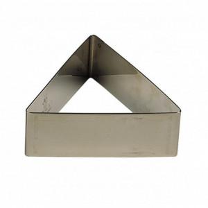 Triangle Inox 27,5 x 24 cm x H 4,5 cm - Découpoir Gobel