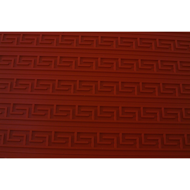 Tapis Relief silicone Grande Frise Grec 40 mm - Tapis de cuisson 560 x 390 mm