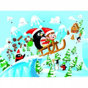 Calendrier de l'Avent Pingouin Barry