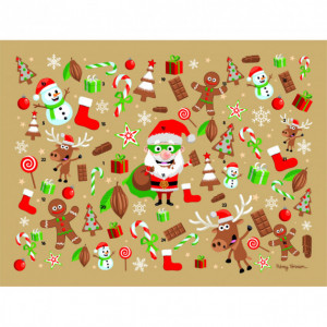 Calendrier de l'Avent Super Père Noël Barry