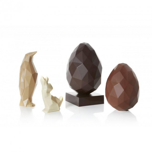 Gamme Moules Chocolat Origami Barry