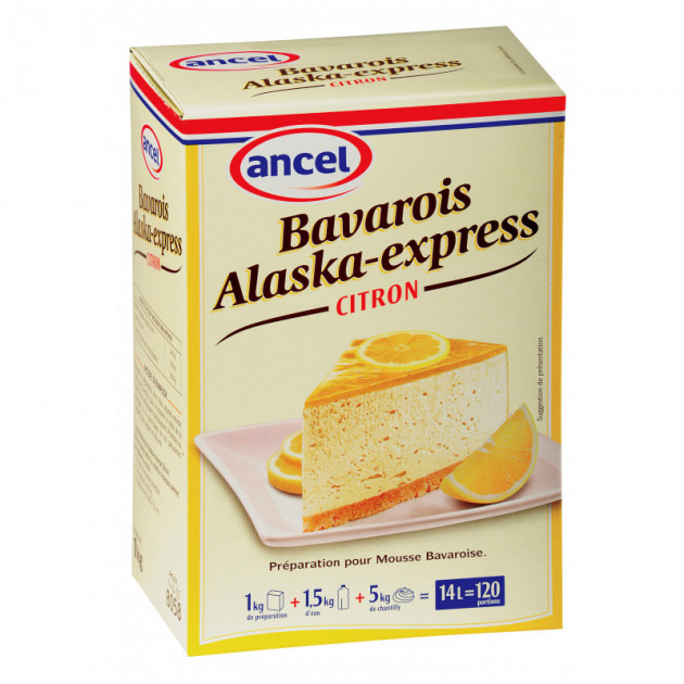 Preparation bavarois Alaska-Express Citron 1 kg Ancel