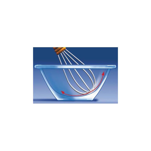 Saladier en Verre trempe MR CHEF : grande facilite d'utilisation