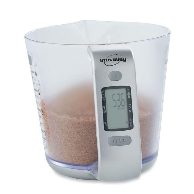 Bol doseur avec Balance digitale : mesure de sucre