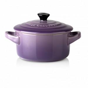 Mini Cocotte ronde Céramique Ultra Violet 10 cm 0.25 L Le Creuset