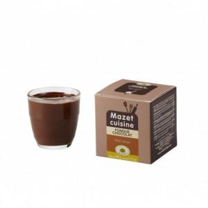 Fondue Chocolat Noir Amer 90 g Mazet