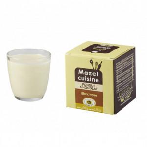 Fondue Chocolat Blanc Ivoire 90 g Mazet