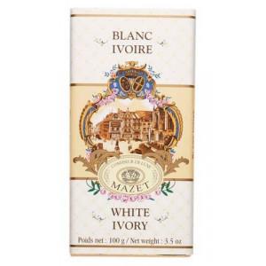 Tablette Chocolat Blanc Ivoire Mazet 100 g