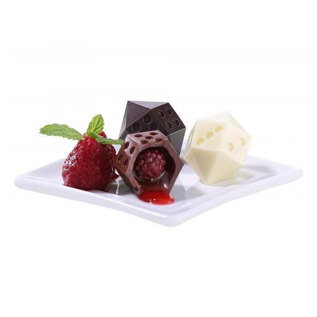 Moule a Touillettes Toupie-des en Chocolat