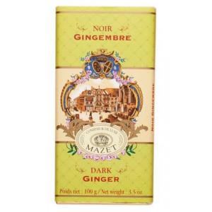 Tablette Chocolat Noir Gingembre Mazet 100 g