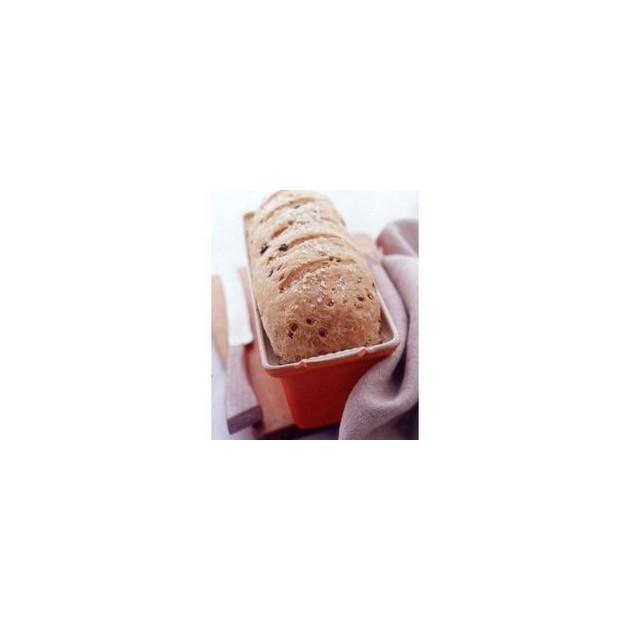 Terrine Rectangulaire avec presse 1.1 L Cerise Le Creuset ceramique
