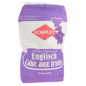 Préparation pour Cake aux Fruits 10 kg