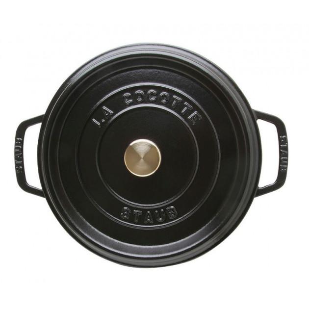 Cocotte Ronde 20 cm Noir Staub Fonte 2.2 l