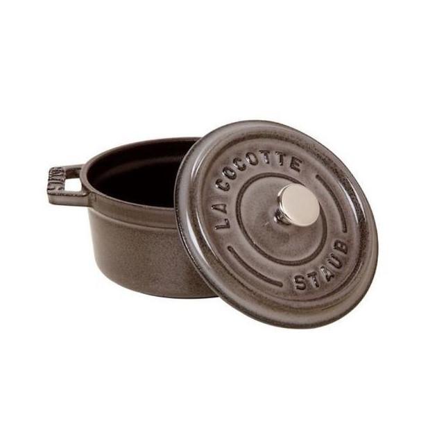 Cocotte Ronde 20 cm Gris Staub Fonte 2.2 l