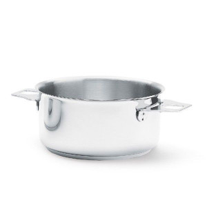 Casserole tout Inox sans Queue Ø 24 cm Twisty de Buyer