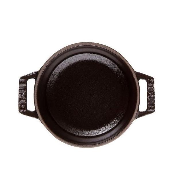 Cocotte ronde en fonte 24 cm Noir