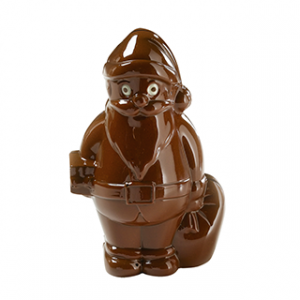 Moule à Chocolat Père Noel 12cm (x4) Barry