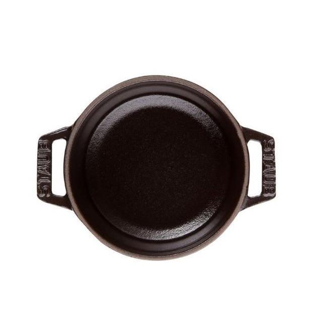 Cocotte ronde en fonte 28 cm Noir 6.7l