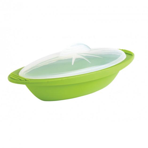 Papillote en Silicone Gourmande Verte Mastrad 550ml