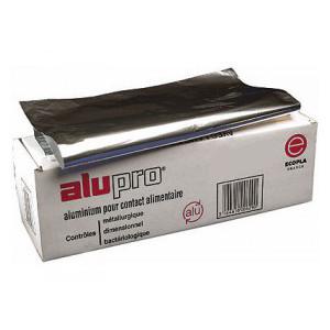 Papier aluminium 200 m x 45 cm boite distributrice