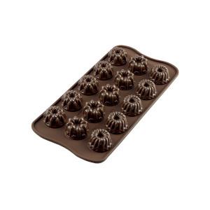 Moule à Chocolat 15 Kouglof Fantaisie Easy Choc - Silicone Spécial Chocolat
