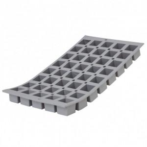 Elastomoule mini-Cube - 40 empreintes 30 x 17,6 cm - Silicone de Buyer