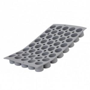Elastomoule mini-Cylindre - 40 empreintes 30 x 17,6 cm - Silicone de Buyer
