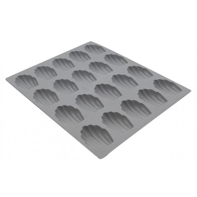 Elastomoule mini-Madeleine - 20 empreintes 21 x 17.6 cm - Silicone de Buyer