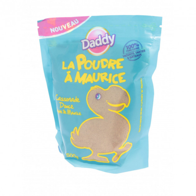 Cassonade Ambree Douce 500 g Daddy