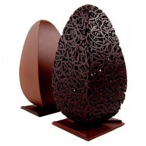 Moule Chocolat Oeuf Stele x H 20 cm (x2) Pavoni