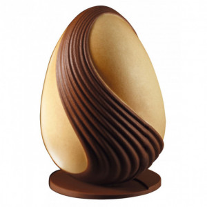 Moule Chocolat Oeuf Design 20 cm N°10 x2