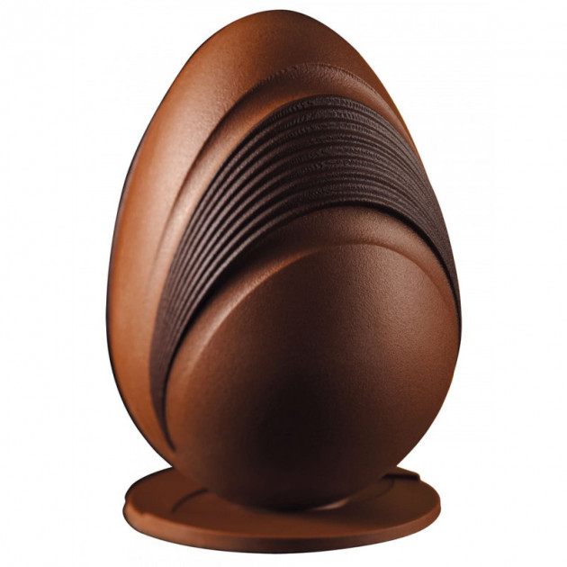 Moule Chocolat Oeuf Comb Ø 14 x H 20 cm (x2) Pavoni