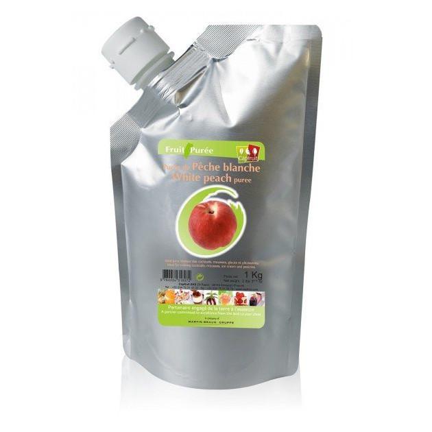 Puree de Peche Blanche Capfruit 1kg