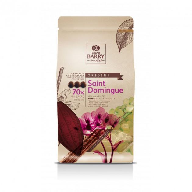 Chocolat noir origine Saint-Domingue 70%