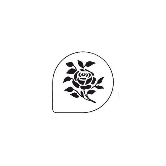 Pochoirs Rose pour Gateaux