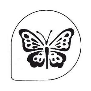 Pochoir Papillon pour Gâteaux