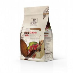 Chocolat lait origine Ghana 40,5% 1 kg
