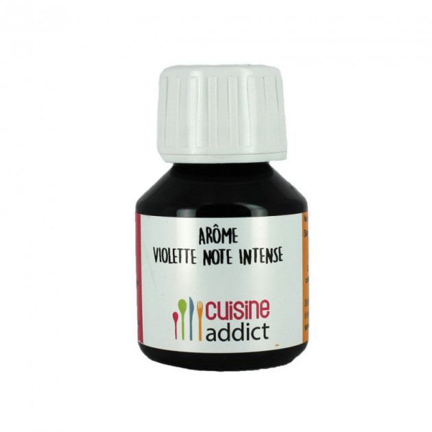 Arome Alimentaire Violette (note Intense) 58 ml Cuisineaddict