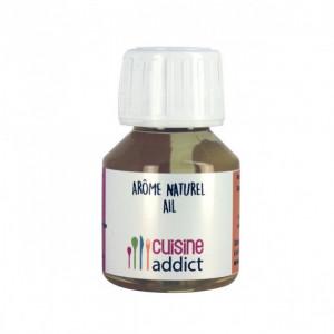 Arôme Alimentaire Naturel Ail 58 ml Cuisineaddict