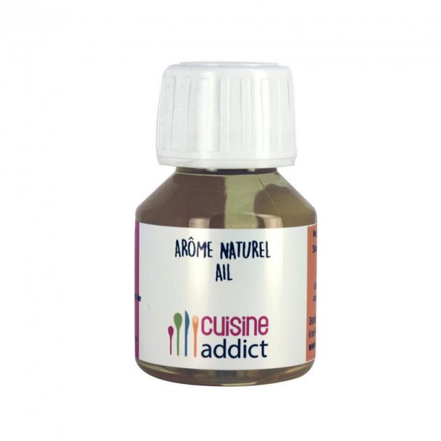 Arome Alimentaire Naturel Ail 58 ml Cuisineaddict